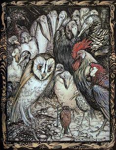 """Arthur Rackham - """"Aesop's Fables"""""""