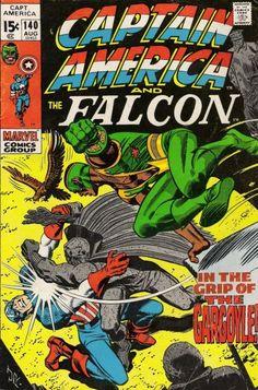 Captain America and the Falcon #140. The Grey/Gray Gargoyle. #CaptainAmerica #Falcon