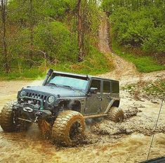Rubicon River, Jeep Rubicon, All Black Jeep, Muddy Trucks, Off Roaders, Best Investments, Jeep Life, Hummer, Range Rover