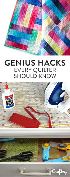 From mastering the Magic 8 Method for making 8 half-square triangles at once, to organizing your quilting studio - you'll discover genius quilting tricks that'll help you streamline each and every quilting project!