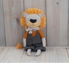 Lion Toys, Pet Toys, Sewing Toys, Baby Cribs, Softies, Crocheting, Decorative Pillows, Teddy Bear, Children