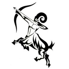 sagittarius tribal tattoosDF
