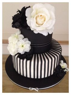 Black and white cake: Is it my birthday yet?! (Well no, but, I can certainly start scheming!)