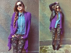 Everything is purple  (by Loredana  B) http://lookbook.nu/look/4413501-Everything-is-purple