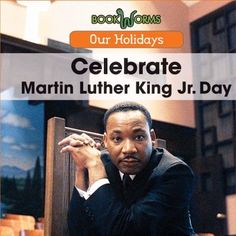 Cover image for Celebrate Martin Luther King Jr. Day