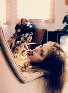 Girl, interrupted with Angelina Jolie and Winnona Ryder