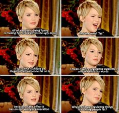 Very inspirational words from Miss Jennifer Lawrence