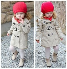 Stylish Trench Coats for Your Little Girl