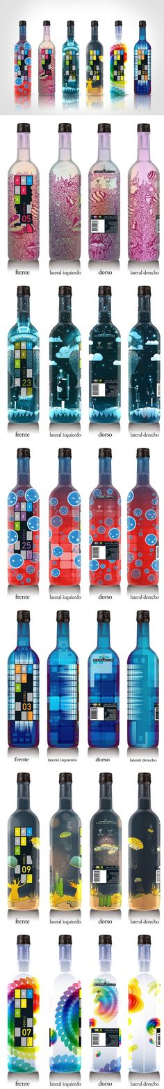 Frizzé bottle packaging concepts