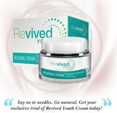 Revived Youth remarkable #antiaging formula has capabilities to prevent peeling and cracking of #skin. Read more here http://skincarebeautyshop.com/revived-youth-review/