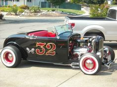 1932 Ford Steel Highboy Roadster
