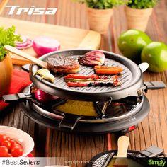 BBQ mini, el #Raclette hace de tus tardes un evento único #Trisa #Triza #SimplyHome #SimplyHomeCol #Simply #Home #Decoracion