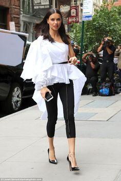 Make an entrance with this dramatic Johanna Ortiz top like Adriana #DailyMail