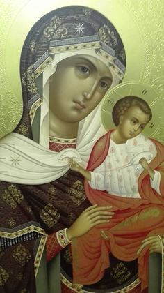 1 January – The Solemnity of Mary, Mother of God and the Octave Day of the Nativity of the Lord Madonna Art, Madonna And Child, Byzantine Art, Byzantine Icons, Religious Icons, Religious Art, Mother Mary, Mother And Child, Kimberly Day