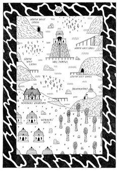dominickesterton: Map of Hoss Bay