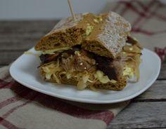 Schweinebraten-Sandwich - Katha-kocht!