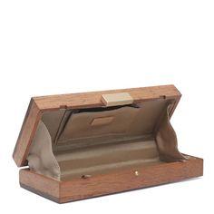 Znalezione obrazy dla zapytania wooden clutch