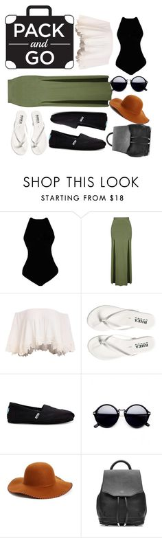 """""""Untitled #264"""" by buttercup-mcsnugglefaces ❤ liked on Polyvore featuring Topshop, TOMS, Phase 3, rag & bone, Packandgo and greekislands"""