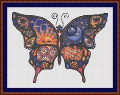 Cross Stitch Works: Free Cross Stitch Pattern butterfly