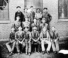Tech's first two graduates: H. Smith (top row, center) and G. Crawford (top row, far right) Choosing A Major, Georgia Institute Of Technology, College, Top, University, Shirts, Community College