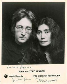 John & Yoko Ono Lennon