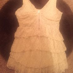 """❤️❤️Lacey SEXY Moda fm  Victoria's Secret So Cute I bought this from the catalog at Victoria's Secret . Super cute on """"!! 🎀. The tag says Small but it will fit up to a Med , this is a special top . !! So romantic , and soft , Sexy . Ruffle plus lace .. How can you go wrong ? 🌹🌹❤️This is also lined . Perfect . Body : 96 % Nylon , 4 % Elastane . Lining is 100 % Nylon . ❤️ can't mark it down any lower get it now or forever hold ur peace """"🙋😱 Moda International Tops Crop Tops"""