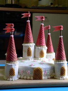 Gâteau château de princesse + photos                                                                                                                                                      Plus