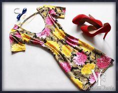 ATMOSPHERE Śliczna SEXY Tunika FLORAL Kwiaty 38/40 (5550358727) - Allegro.pl - Więcej niż aukcje.