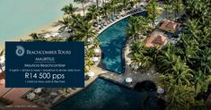 Mauricia Beachcomber 5 nights + airfare & taxes + breakfast, lunch & dinner daily from 500 per person sharing 1 child under 6 stays, eats & flies free Valid 1 – 14 Sep 2018 T&Cs apply today Mauritius, City Photo, Tours, Kids, Free, Travel, Young Children, Boys, Viajes