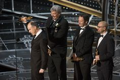 """Paul Franklin, Andrew Lockley, Ian Hunter and Scott Fisher won the visual effects Award for """"Interstellar"""""""