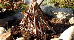 What to do when you are cold and wet and need a fire? Here are a few tips to help you start a fire when it is wet...  http://www.survivorninja.com/how-to-start-a-fire-in-wet-weather/