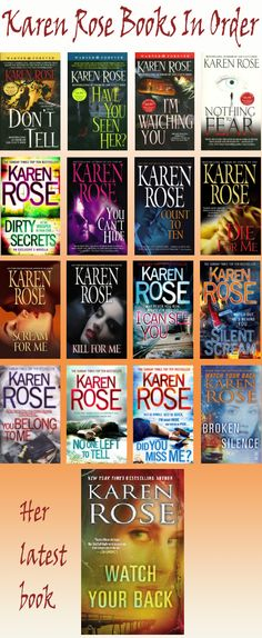 Karen Rose -  A long but awesome series!! Suspense Romance