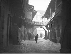 Podwórze między ulicami Meiselsa i Józefa w Krakowie.Data wydarzenia:1920-1939