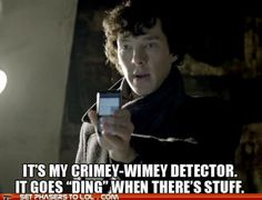 Wibbly Wobbly.....Crimey Wimey. My new favorite Wholock thing