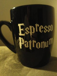 Hey, I found this really awesome Etsy listing at https://www.etsy.com/listing/174758046/harry-potter-espresso-patronum-mug