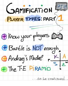 Gamification Player Types: The T-E Pyramid (I)   Gamification by @victormanriquey