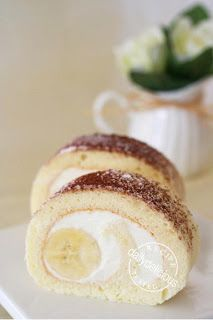 Banana Mascarpone Roll: Simply sweet!