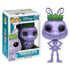 A Bug's Life Princess Atta Pop! Vinyl Figure - Funko - A Bugs Life - Pop! Vinyl Figures at Entertainment Earth