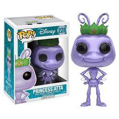 A Bug's Life Princess Atta Pop! Vinyl Figure - Funko - A Bugs Life - Pop! Vinyl Figures at Entertainment Earth