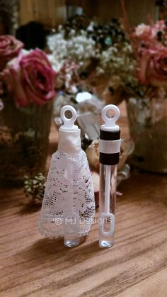 Wedding Bubble Favors His and Hers Wedding Gowns by MJDesignsInc, $65.00