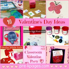 Top 10 Valentine's Day Activities and Ideas for Preschool and Kindergarten from Pre-K Pages