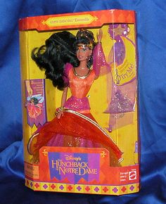 disney esmeralda barbie doll - Google Search