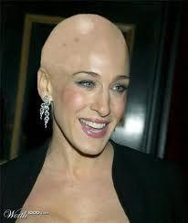 Sara jessica parker shaved