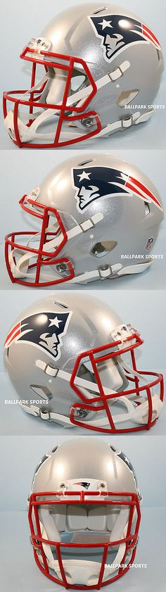 Football-NFL 206: New England Patriots - Riddell Full-Size Speed Authentic Helmet -> BUY IT NOW ONLY: $209.99 on eBay!