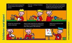 Verven met bloem, leuk proefje voor kinderen op de basisschool! Mad Science, Weird Science, Science Humor, Science Experiments Kids, Science For Kids, Professor, Creative Kids, Chemistry, Teaching