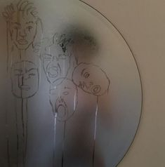 "I think this is someone making faces in a fogged up mirror and ""drawing"" them in the condensation Kunst I think this is someone making faces in a fogg. Aesthetic Photo, Aesthetic Art, Aesthetic Pictures, Aesthetic Drawing, Shotting Photo, Wow Art, Art Hoe, Belle Photo, Artsy Fartsy"