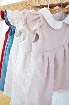 Vintage Style Handmade Linen Dresses   Dabishoo on Etsy