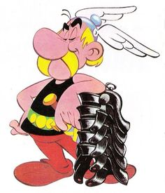 Asterix - the smug little Gaul.