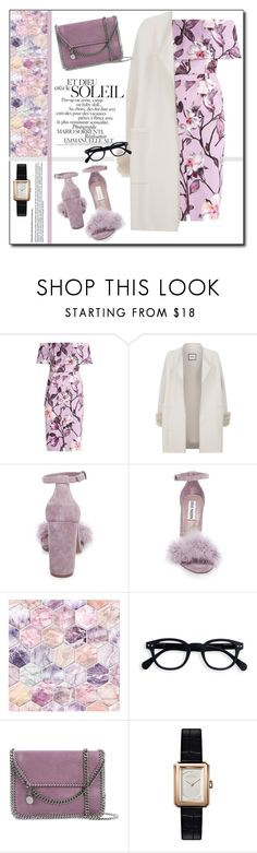 """Liliac !"" by emapolyvore ❤ liked on Polyvore featuring Max & Moi, Steve Madden, STELLA McCARTNEY, Chanel, dress, Elegant and liliac"