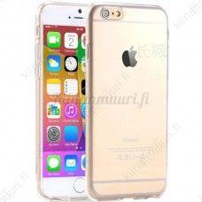 Läpinäkyvä suojakuori iPhone 6, eri värivaihtoehtoja